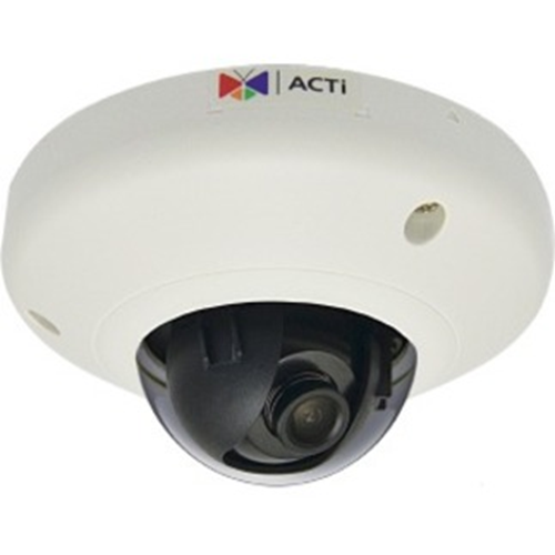 ACTi E912 5 Megapixel Network Camera - Mini Dome