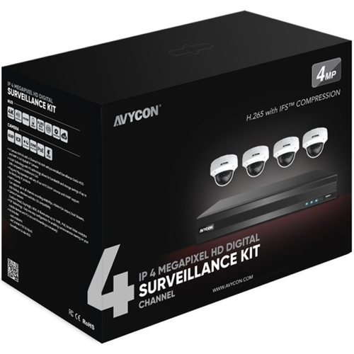 AVYCON AVK-HN41V4 Video Surveillance System