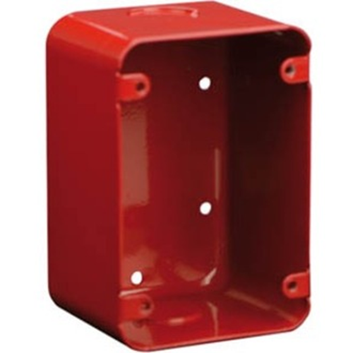 "Bosch FMM-100DBB-R Surface Backbox, 4.75x3.25x2.75"" , Red"