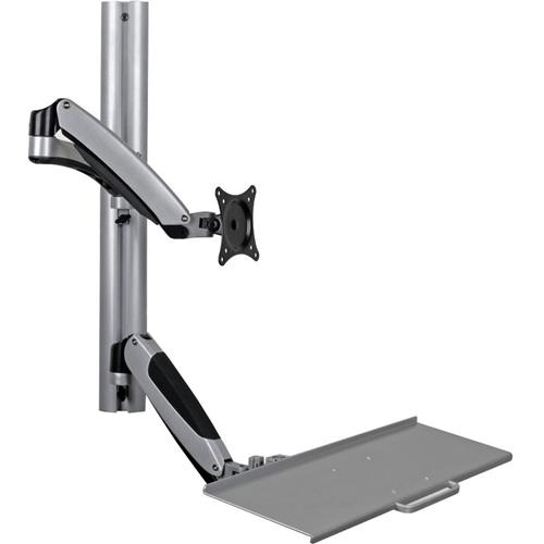 Tripp Lite Wall-Mount for Sit-Stand Desktop Workstation Standing Desk w/ Thin Client Mount