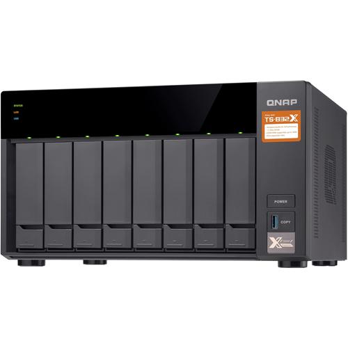 QNAP TS-832X-8G SAN/NAS Storage System