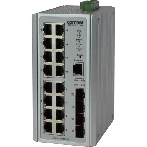 ComNet CNGE20FX4TX16MS Ethernet Switch