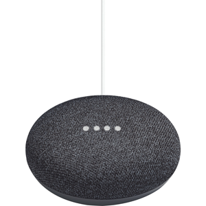 Google Home Mini Bluetooth Smart Speaker - Google Assistant Supported - Charcoal Black