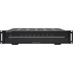 Russound D1650 Amplifier - 1280 W RMS - 16 Channel - Black