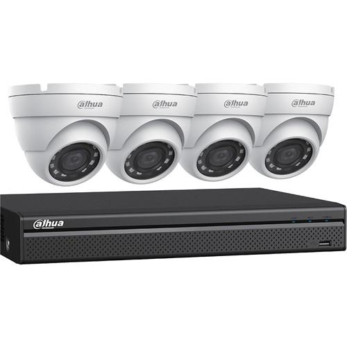 Dahua 4MP HDCVI Security System