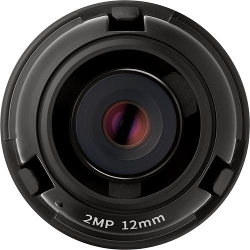 Wisenet SLA-2M1200P - 12 mm - f/2 - Fixed Focal Length Lens for M12-mount