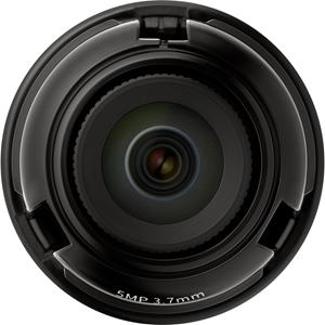 Wisenet SLA-5M3700P - 3.70 mm - f/1.6 - Fixed Focal Length Lens for M12-mount
