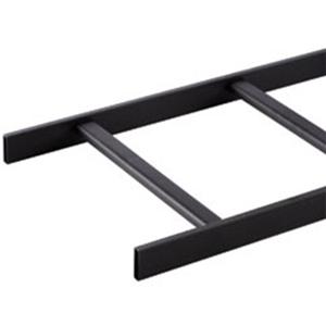 "Ortronics Telco Style Tubular Runway, 12"" , Black, 9', 8.50"""