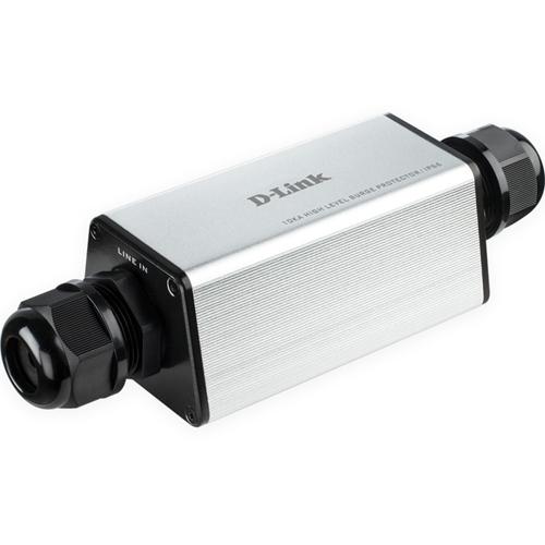 D-Link Gigabit Ethernet PoE+ RJ45 Outdoor 10kA Surge Protector