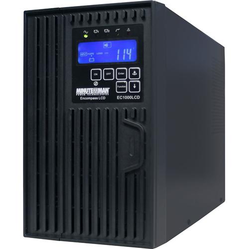 Minuteman 1000 VA On-line Tower UPS with 6 0utlets