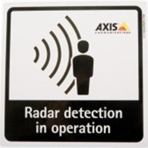 AXIS Radar Detection Sticker