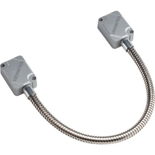 """Allegion Heavy Duty Door Cord with Aluminum Boxes; Stainless Steel Cable; 16"""" Length"""