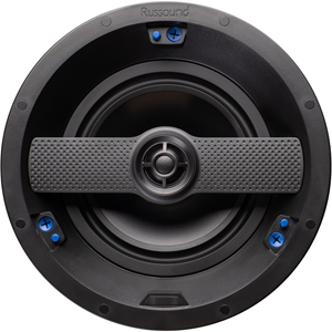 """2-way in-ceiling/in-wall high resolution speaker with 6.5"""" woofer and edgeless grille - Pair"""