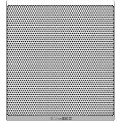 AtlasIED IP-SM Indoor Ceiling Mountable, Wall Mountable, In-wall Speaker - White