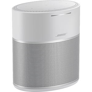 Bose 300 Bluetooth Smart Speaker - Google Assistant, Alexa Supported - Luxe Silver
