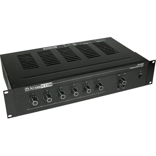 AtlasIED AA120G Amplifier - 120 W RMS - 6 Channel