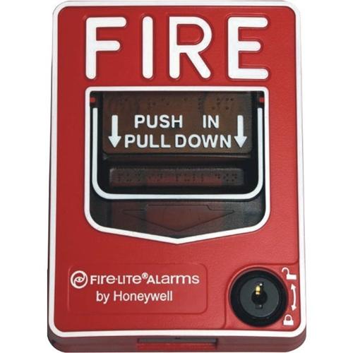 Fire-Lite BG-12LX Addressable Manual Pull Station