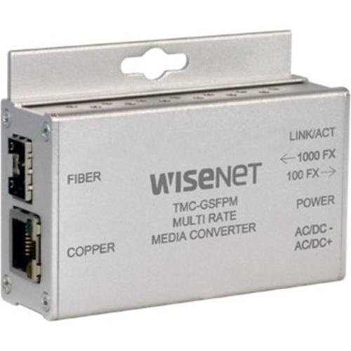 Wisenet TMC-GSFP Transceiver/Media Converter