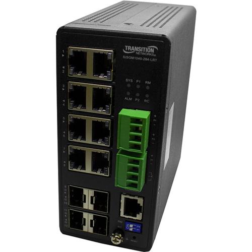 Transition Networks Managed Hardened Gigabit Ethernet Switch