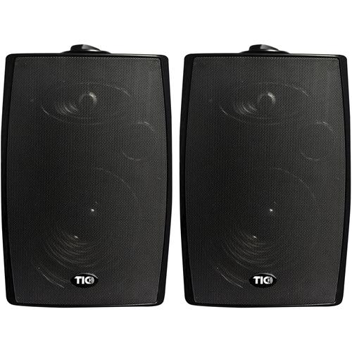 TIC Patio ASP90 2-way Indoor/Outdoor Bookshelf Speaker - 75 W RMS - Black