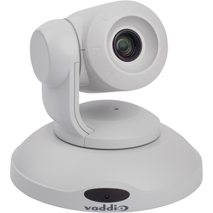 Vaddio ConferenceSHOT 10 Video Conferencing Camera - 2.1 Megapixel - 60 fps - White - USB 3.0 - TAA Compliant