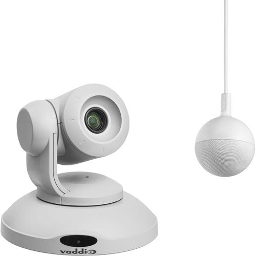 Vaddio ConferenceSHOT AV Video Conferencing Camera - 2.1 Megapixel - 60 fps - White - USB 3.0