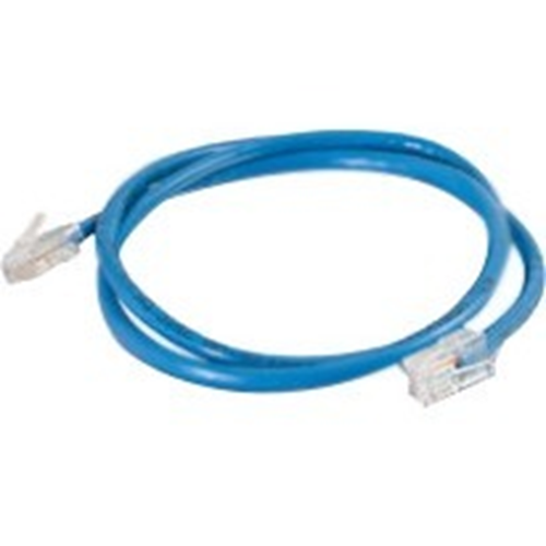 Quiktron 10ft VALUE Series Cat6 Non-Booted Patch Cord - Blue