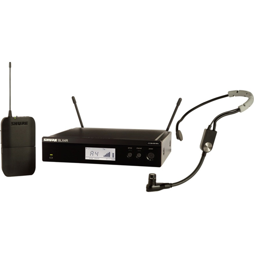 Shure Wireless Rack-mount Headset System with SM35 Headset Microphone
