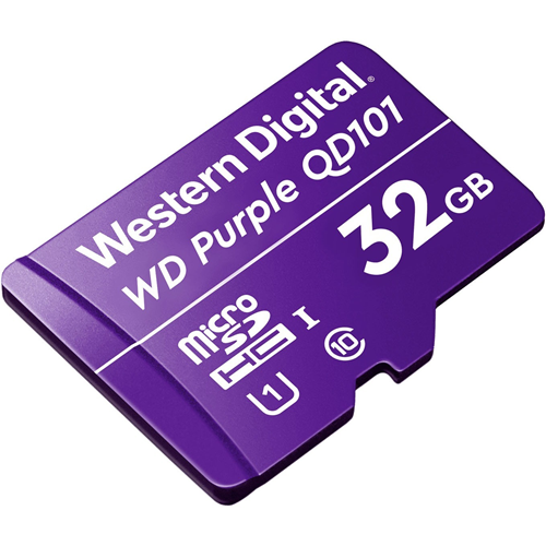 WD Purple WDD032G1P0C 32 GB Class 10/UHS-I (U1) microSDHC