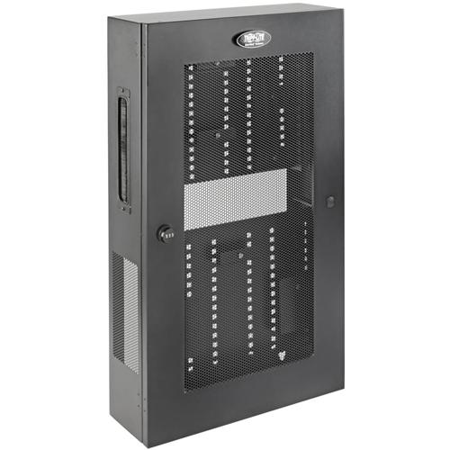 Tripp Lite Wallmount Rack Enclosure 5U Vertical Low-Profile Switch-Depth