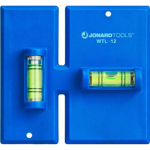 Jonard Tools Wall Box Template & Level for Non-Metallic Boxes, 1-Gang and 2-Gang