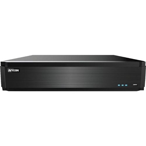 AVYCON 32 Channel All-in-One H.265 4K HD DVR (Up to an Additional 32 CH IPC)