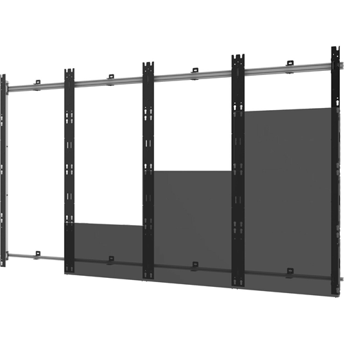 Peerless-AV DS-LED27BDL-4X4 Wall Mount for Video Wall, LED Display - Black, Silver - TAA Compliant