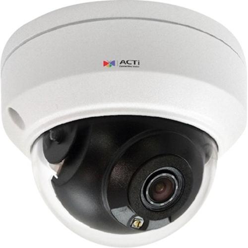ACTi Z710 8 Megapixel Network Camera - Mini Dome