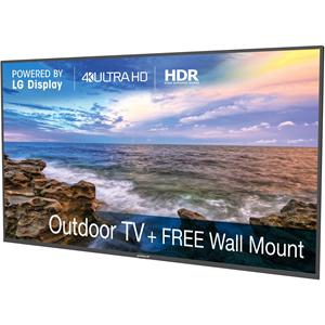 """Peerless-AV Neptune Shade NT752 74.5"""" Smart LCD TV - 4K UHDTV - Black"""