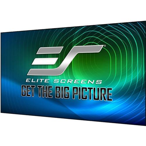 "Elite Screens Aeon CLR 3 AR115H-CLR3 115"" Fixed Frame Projection Screen"