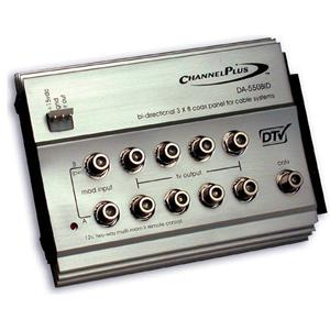 Linear Channel Plus DA-550BID Bi-directional RF Distribution Amplifier