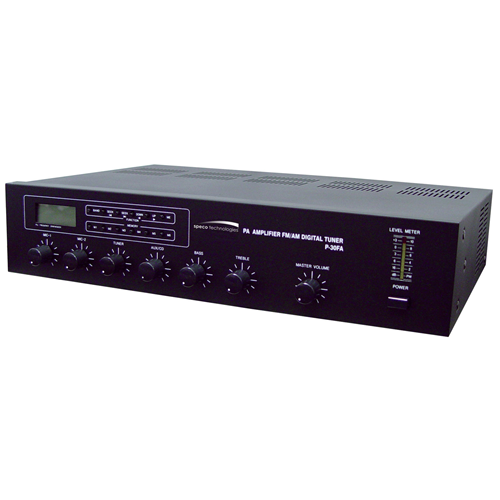 Speco Professional P30FA Amplifier - 30 W RMS