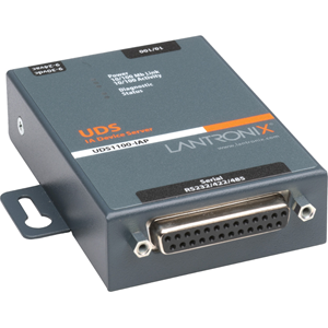 Lantronix 1-Port Serial (RS232/ RS422/ RS485) to Ethernet Industrial Device Server supporting Modbus (TCP; ASCII; RTU)