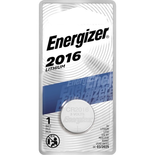 Energizer 2016 Lithium Coin Battery, 1 Pack