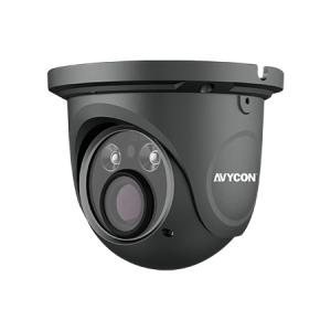 2.1mp, Eyeball 1080p 4-In-1, Hd-Tvi, CVI, Black