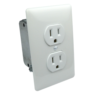 Electrical Install Kit W/ Gang Box, Outlet Cover
