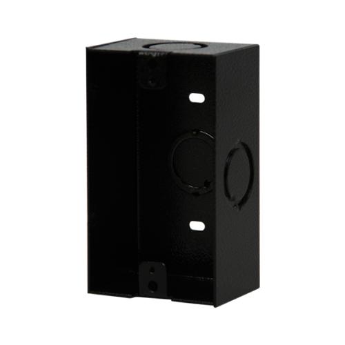 Igb Backbox 1gang Blk Surface 2-3/4x 4-1/2 X 1-15/