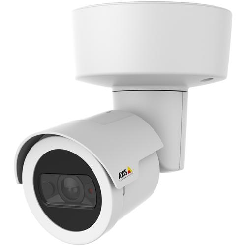 AXIS M2026-LE Mk II 4 Megapixel Netwerkcamera - Monochroom, Kleur - 15 m Night Vision - H.264, MPEG-4 AVC, Motion JPEG - 2688 x 1520 - 2.40 mm - RGB CMOS - Kabel - Kogel - Bevestiging voor toestelverbindingsdoos, Ingebouwde montage, Hangbevestiging, Plafondsteun, Paalmontage, Muurbevestiging
