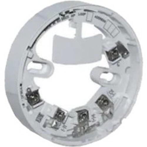 Notifier Basis van detector - Voor Temperatuursensor, Rookdetector - ABS, Polycarbonaat - Wit