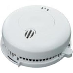BRK Rookdetector - Foto-elektrisch - Bedraad - 3 V DC - 10 Jaar batterij - Muurbevestiging, Plafondsteun Voor Indoor
