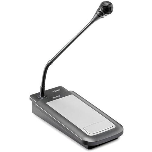 Bosch PLE-1CS Microphone - 100 Hz to 16 kHz - Wired - 2 m - Desktop