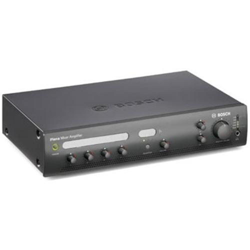 Bosch Plena PLE1MA120-EU Amplifier - 120 W RMS - Charcoal - 50 Hz to 20 kHz - 400 W - Ethernet
