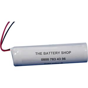 Yuasa 2DH4-0L4 Flashlight Battery - 4000 mAh - Nickel Cadmium (NiCd) - 2.4 V DC - Battery Rechargeable - 2 Pack
