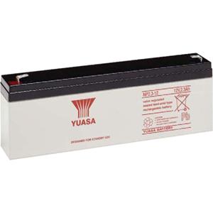 Yuasa Battery - Lead Acid - For Multipurpose - Battery Rechargeable - 12 V DC - 2300 mAh - 76 Wh